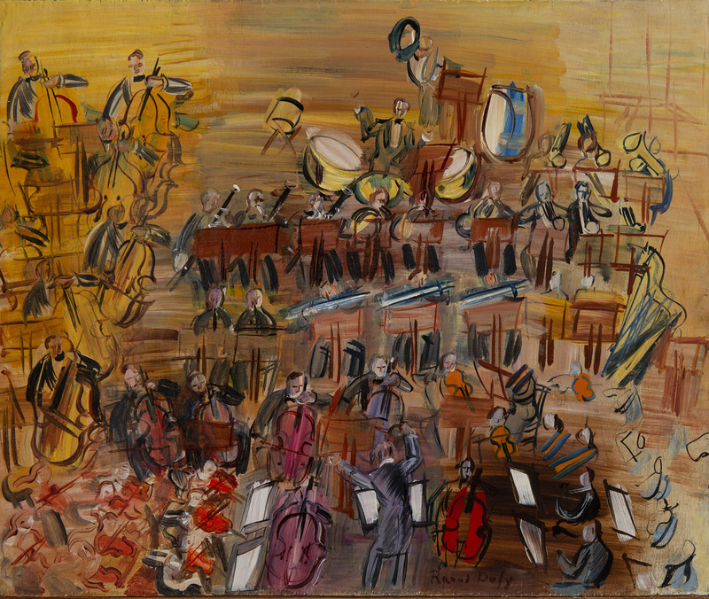Raoul DUFY - Peinture - Le grand orchestre