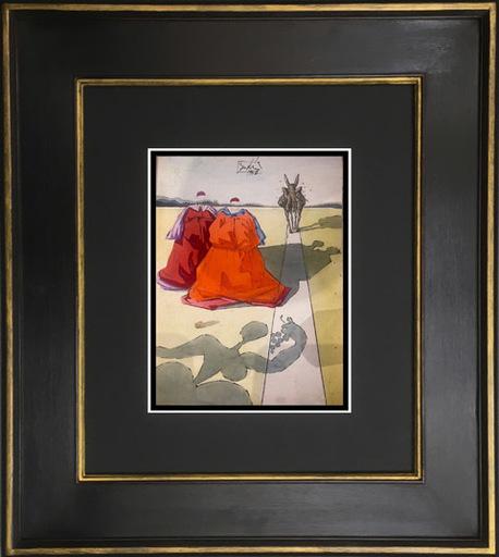 Salvador DALI - Pintura - Original work Le Tricorne #6