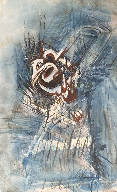 Henry HARTLEY - Drawing-Watercolor - Composition