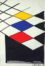 Alexander CALDER (1898-1976) - Faux vitrail, 1970