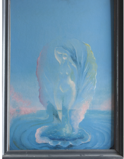 Fernando VERDUGO - Pintura - Homenaje al nacimiento de Venus
