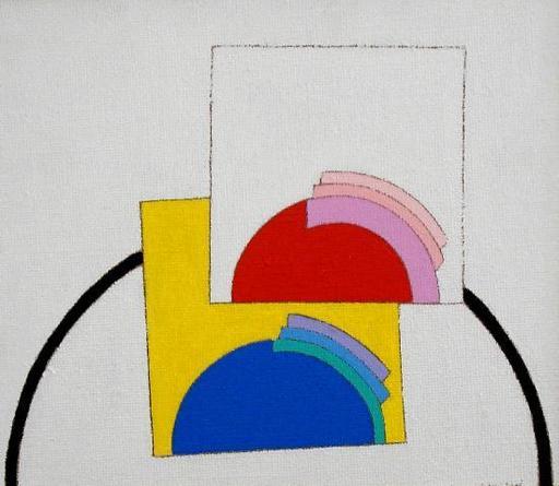 Eugenio CARMI - Painting - Piccolo colloquio
