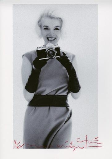 Bert STERN - Fotografia - Marilyn WITH BERT'S NIKON
