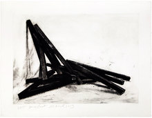 Bernar VENET - Estampe-Multiple - Effondrement Angles