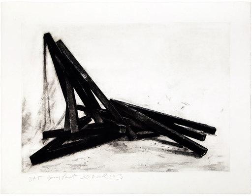 Bernar VENET - Estampe-Multiple - Effondrement Angles