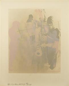 Robert RAUSCHENBERG, Shell (from Stoned Moon Series)