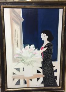 André BRASILIER - Pintura - La Nuit
