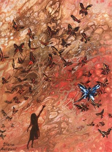 Diana MALIVANI - Pittura - She Who Aspires