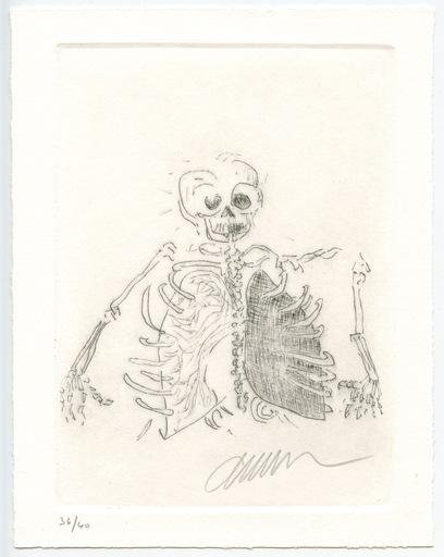 阿尔曼 - 版画 - GRAVURE 1997 SIGNÉE AU CRAYON NUM/40 HANDSIGNED NUMB ETCHING