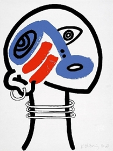 Keith HARING, The Story of Red and Blue (17)