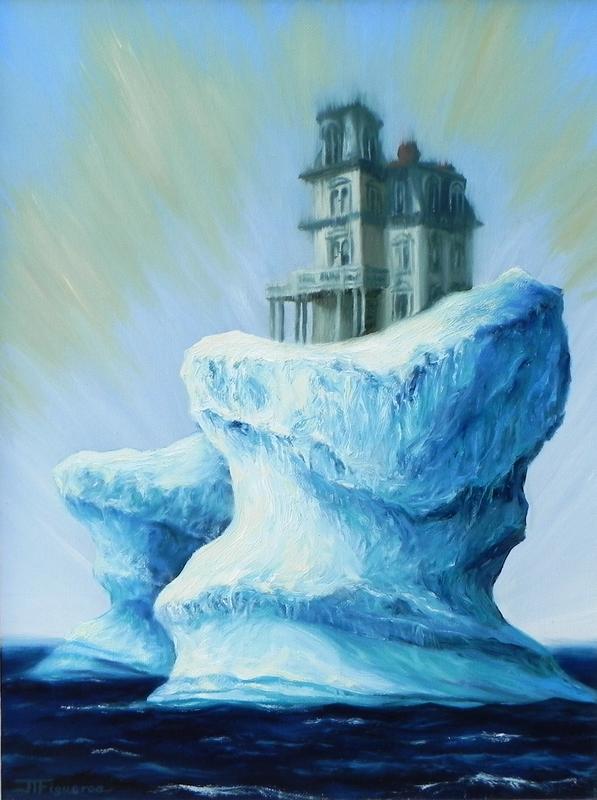 Julio FIGUEROA BELTRAN - Pittura - The Dreaming House