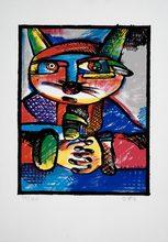 Otmar ALT - Print-Multiple - Katze - Cat