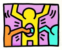 Keith HARING - Stampa Multiplo - Untitled II