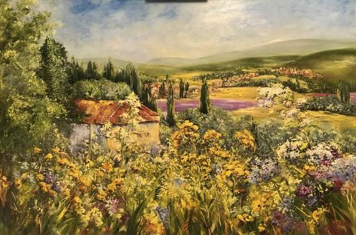 Diana MALIVANI - Pintura - Summer in Provence
