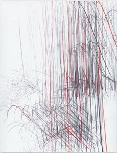 Jaanika PEERNA - Drawing-Watercolor - Screech of ice series 43