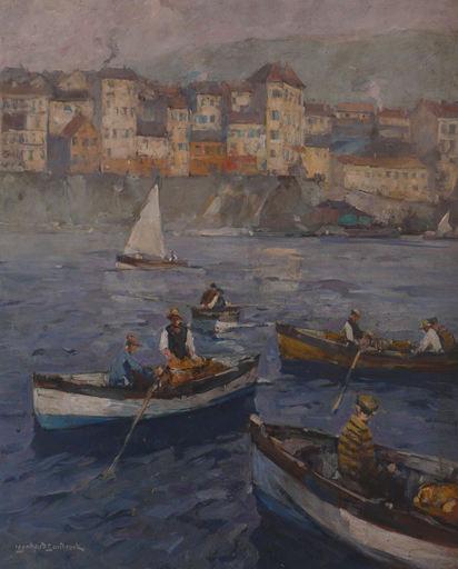Leonhard SANDROCK - Painting - Korfu