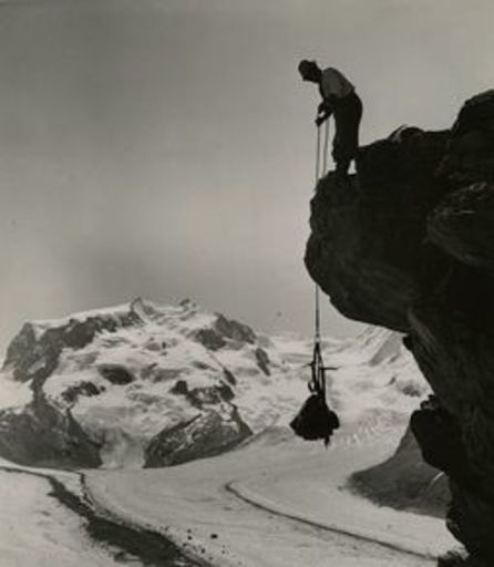 Emil MEERKÄMPER - Fotografie - Am Riffelhorn bei Zermatt