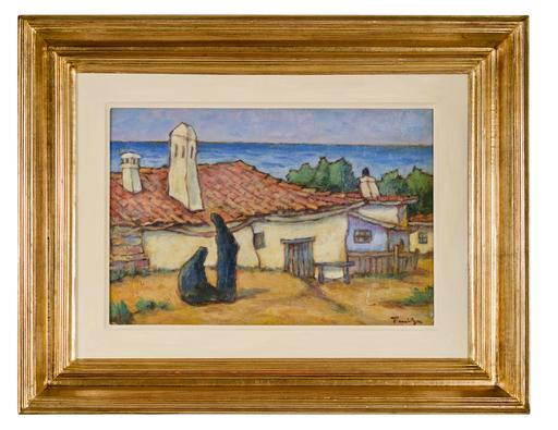 Nicolae TONITZA - Gemälde - Balcic