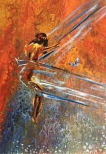 Diana MALIVANI - Pittura - She Who Flies