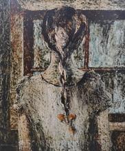 ARGÜELLES - Pintura - Joven de espaldas