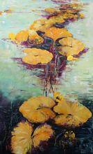 Nadine PILLON - Painting - Quiétude