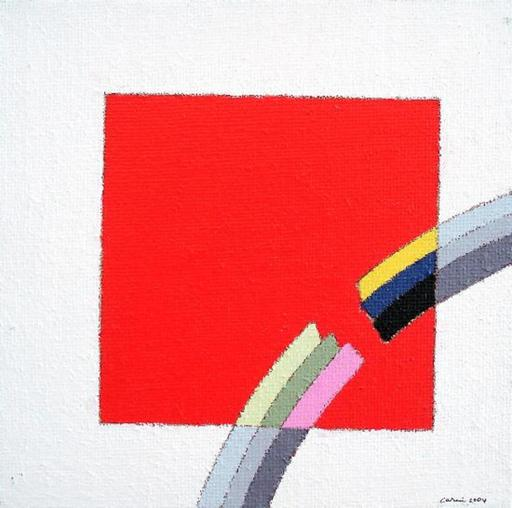 Eugenio CARMI - Painting - Interferenza