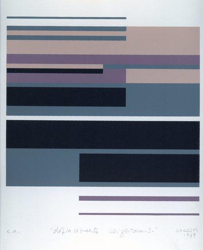 Marie-Thérèse VACOSSIN - 版画 - SÉRIGRAPHIE 1979 SIGNÉE CRAYON EA HANDSIGNED SILKSCREEN