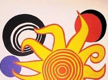 Alexander CALDER (1898-1976) - Sunrise II