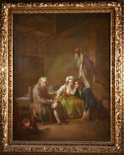 Jean-Baptiste GREUZE - Painting - Sin titulo