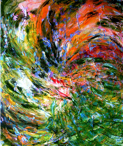 Theodora BERNARDINI - Painting - DELTA