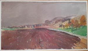 Henri SCHMID - Painting - Stammheim