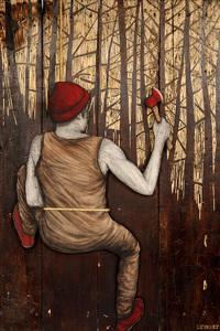 LEVALET - Painting - Genesis
