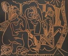 巴勃罗•毕加索 - 陶瓷  - Le déjeuner sur l' herbe