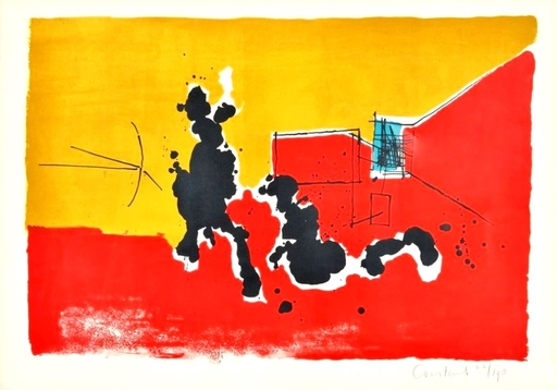 CONSTANT - Estampe-Multiple - Japanese love call, 1967