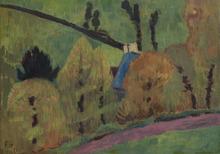 保罗·塞律西埃 - 绘画 - Le chemin rose à Châteauneuf du Faou