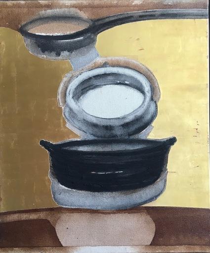 Madhu BASU - Painting - classic essai n° 2