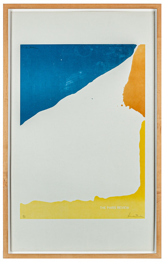 Helen FRANKENTHALER - Druckgrafik-Multiple - Paris Review