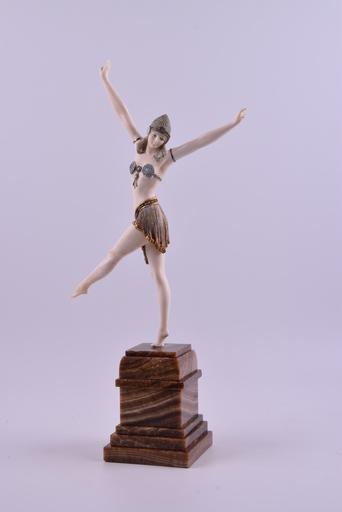 Dimitri CHIPARUS - Sculpture-Volume - Dancer of Palmyra