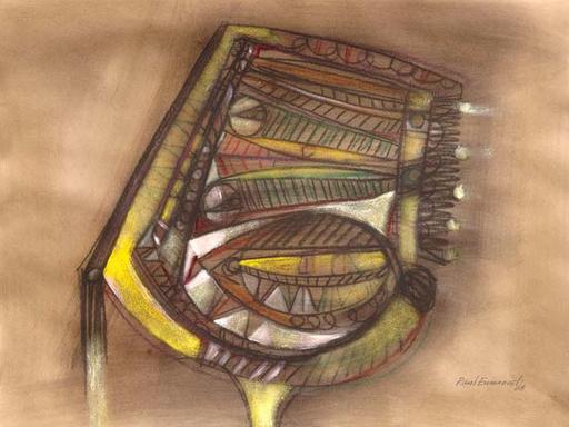 Raul ENMANUEL - Dibujo Acuarela - Almageur