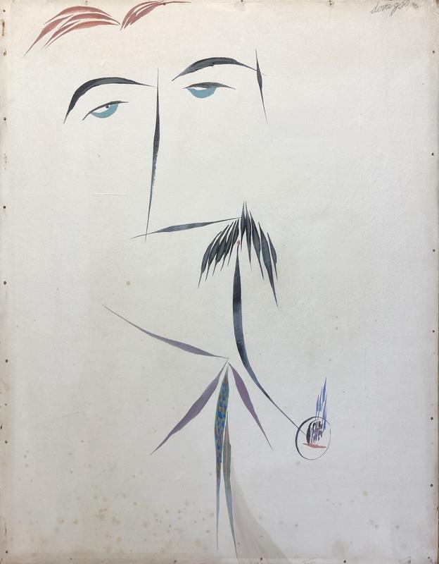 Gianni DOVA - Painting - Ritratto di Carlo Cardazzo