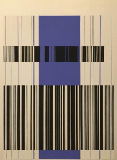 Luc PEIRE - Druckgrafik-Multiple - Bleu Noir