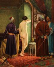 Alberto ROSSI - Painting - La schiava