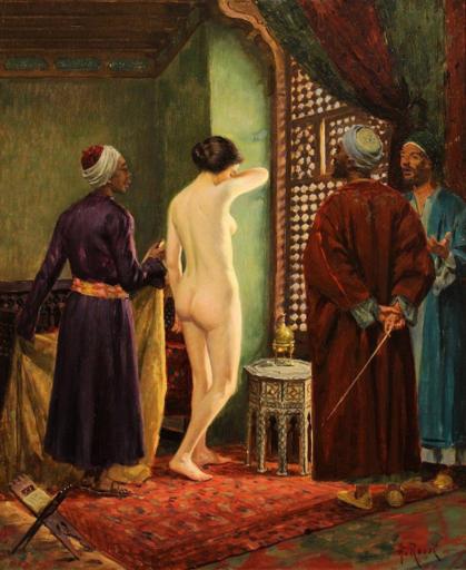 Alberto ROSSI - Pintura - La schiava