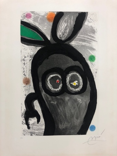 Joan MIRO - Estampe-Multiple - Le Roi des Lapins