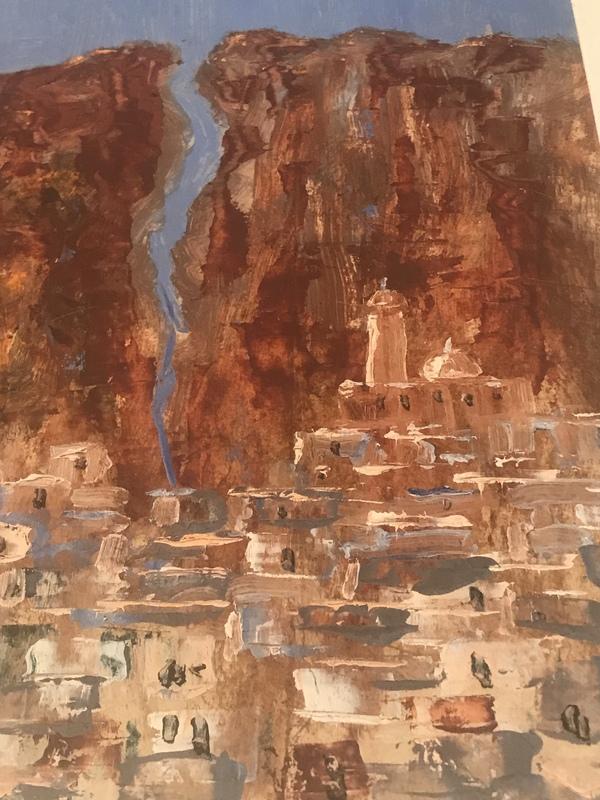 Michel KURCHÉ - Painting - Maaloula
