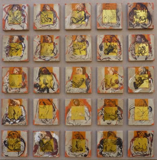 Alain GESTIN - Peinture - Ô dernier né