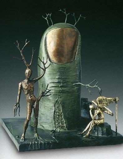 Salvador DALI - Sculpture-Volume - La Vison del Angel
