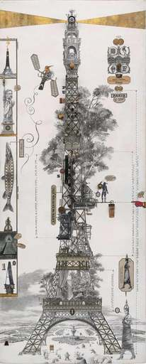 Bruno MALLART - Drawing-Watercolor - Exposition universelle