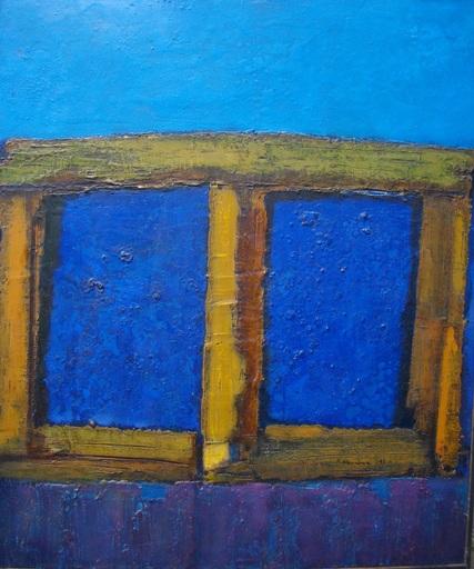 Vyacheslav Sawich MIKHAILOV - Painting - Russian window