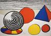 Alexander CALDER - Print-Multiple - Composition VII, from The Elementary Memory   La mémoire élé